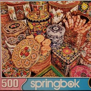 Springbok Cookie Tins Puzzle